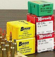 Hornady Sierra Berger Bullets
