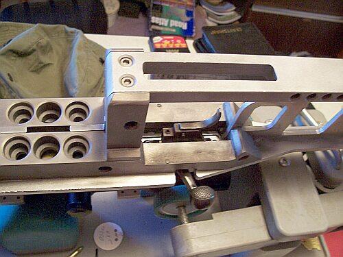 metal stock benchrest rifle