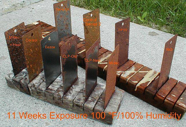 Corrosion Rust Test Salt Spray Eezox BreakFree